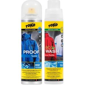 Duo Csomag Textile Proof impregnáló szer + Eco Textile Wash mosószer 250 ml