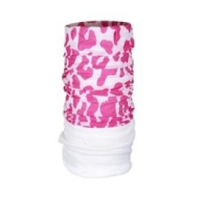 Fleece Pink Leopard Kendő